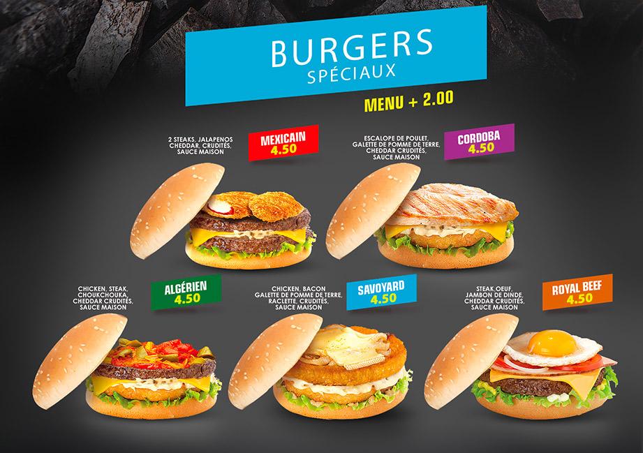 Burgers Les 5 Sens